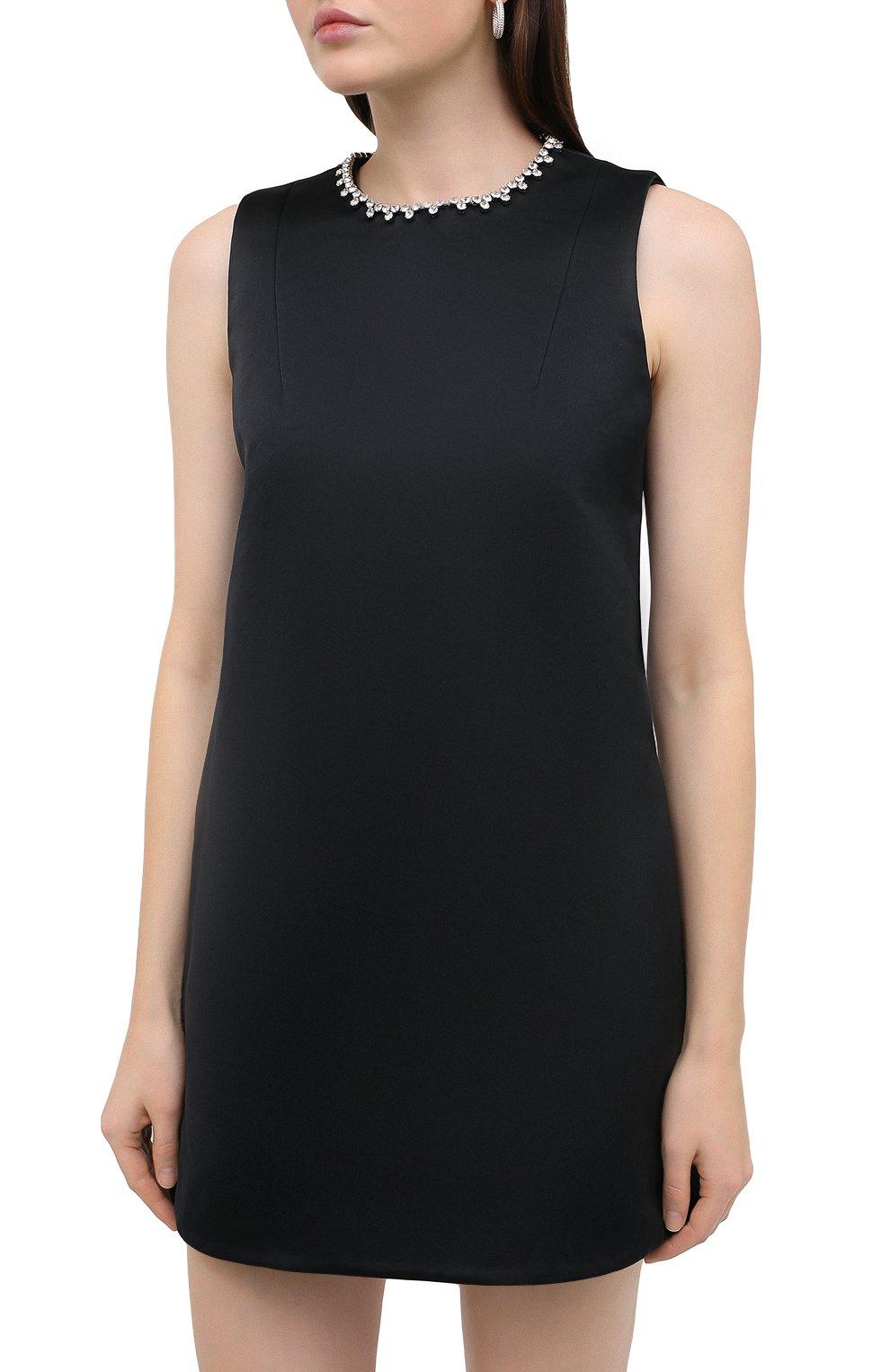 Женское платье AREA черного цвета, арт. PF20D05052 | Фото 3