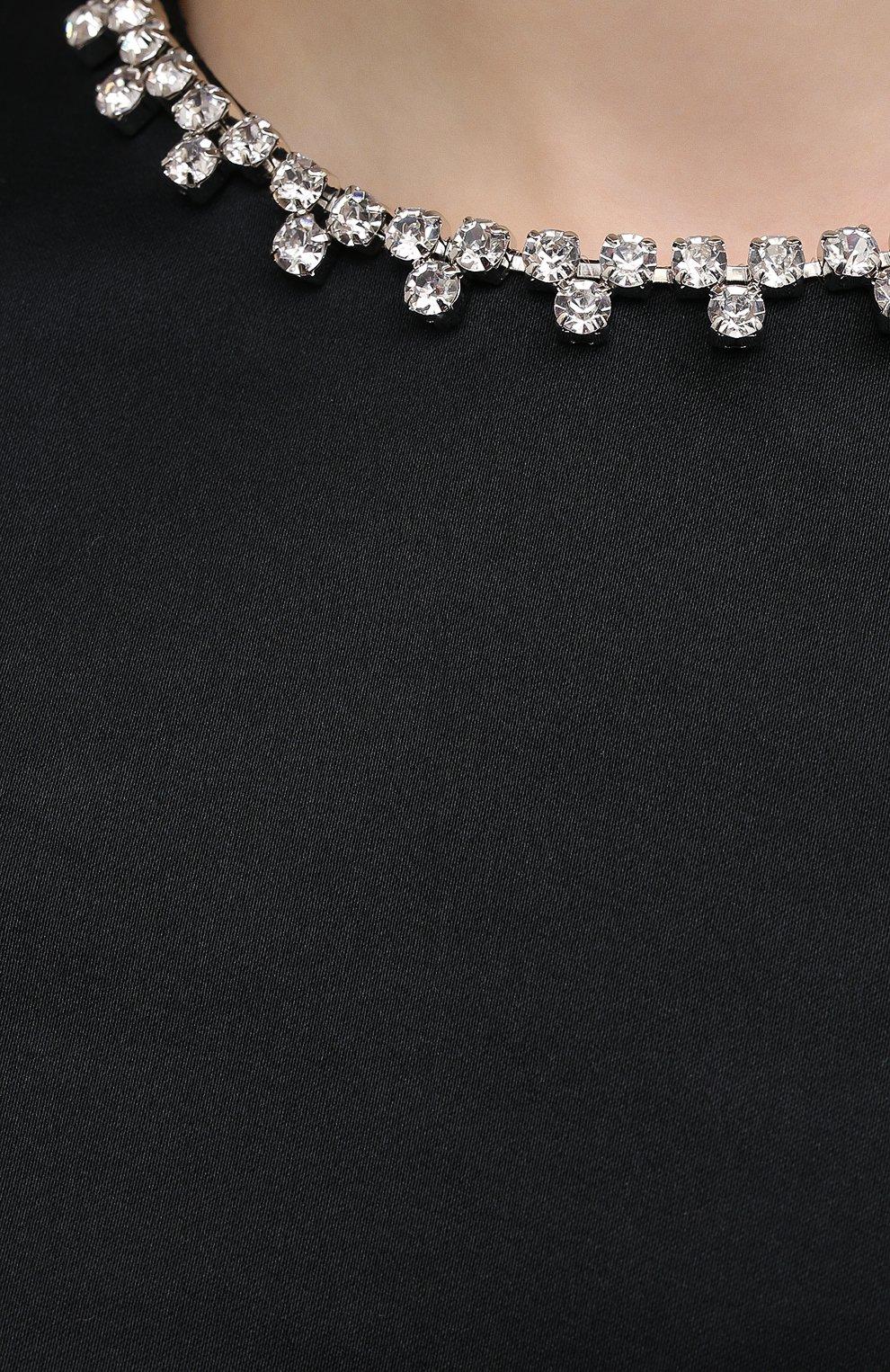 Женское платье AREA черного цвета, арт. PF20D05052 | Фото 5