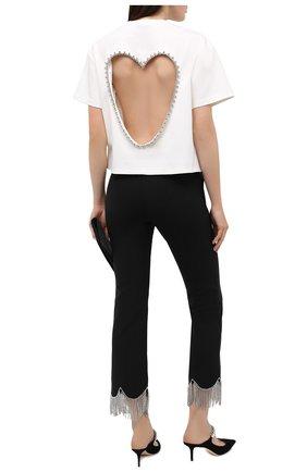 Женская футболка AREA белого цвета, арт. PF20T19003 | Фото 2