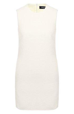 Женское шерстяное платье DSQUARED2 белого цвета, арт. S72CV0155/S53288 | Фото 1