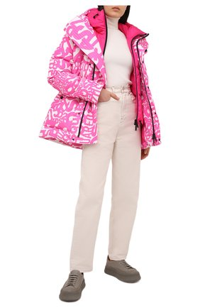 Женский пуховая куртка с жилетом DSQUARED2 розового цвета, арт. S72AM0873/S53359 | Фото 2