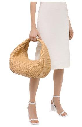 Женская сумка BOTTEGA VENETA бежевого цвета, арт. 639308/V01D1 | Фото 2