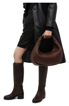 Женская сумка BOTTEGA VENETA коричневого цвета, арт. 639308/V01D1 | Фото 2