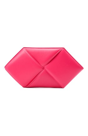 Женский клатч BOTTEGA VENETA розового цвета, арт. 639955/VCQR2 | Фото 1