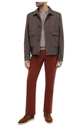 Мужское поло из кашемира и шелка ZILLI бежевого цвета, арт. MBU-PZ082-VAWA1/ML01 | Фото 2