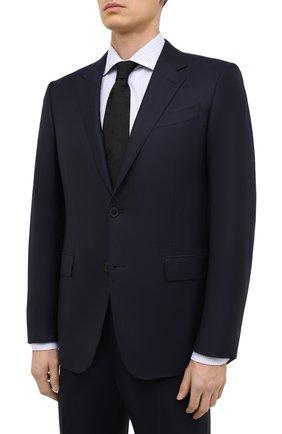 Мужской шерстяной костюм ERMENEGILDO ZEGNA темно-синего цвета, арт. E22617/22122C | Фото 2