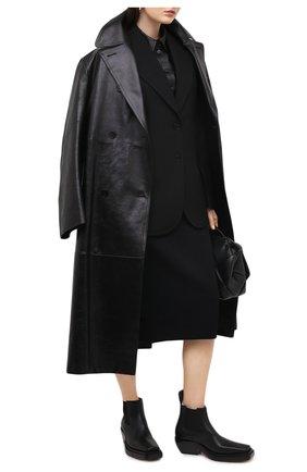 Женские кожаные ботинки bv lean BOTTEGA VENETA черного цвета, арт. 639830/V00M0 | Фото 2