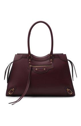 Женская сумка neo classic large BALENCIAGA бордового цвета, арт. 638531/11R11 | Фото 1