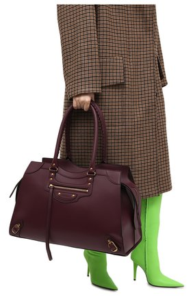 Женская сумка neo classic large BALENCIAGA бордового цвета, арт. 638531/11R11 | Фото 2