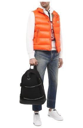 Мужской текстильный рюкзак valentino garavani rockstud VALENTINO черного цвета, арт. UY2B0995/HUZ | Фото 2