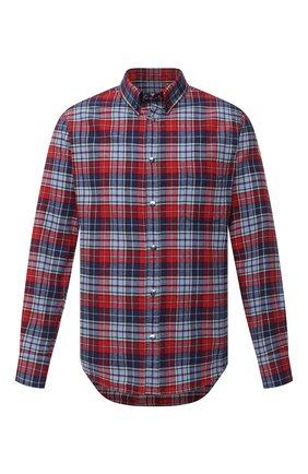 Мужская хлопковая рубашка MONCLER разноцветного цвета, арт. F2-091-2F702-60-54ACK | Фото 1