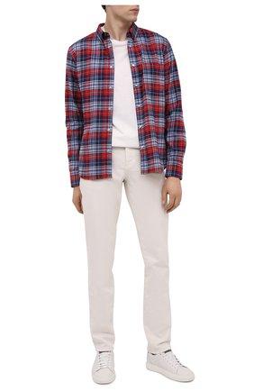 Мужская хлопковая рубашка MONCLER разноцветного цвета, арт. F2-091-2F702-60-54ACK | Фото 2