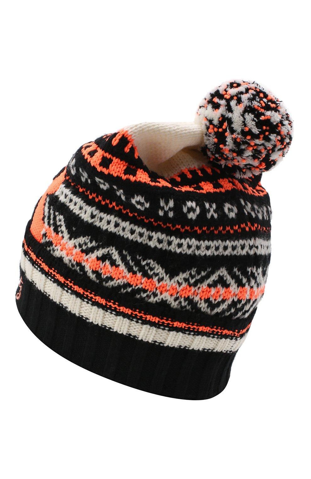 Мужская шерстяная шапка BOGNER разноцветного цвета, арт. 98692720 | Фото 2