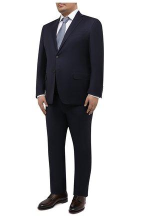 Мужской шерстяной костюм LUCIANO BARBERA темно-синего цвета, арт. 5M2014/19316/58-62 | Фото 1