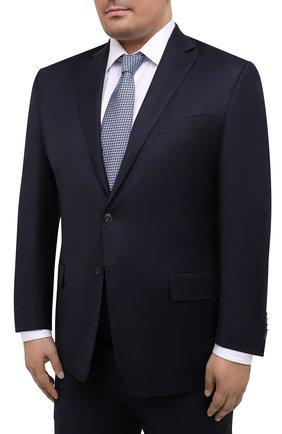 Мужской шерстяной костюм LUCIANO BARBERA темно-синего цвета, арт. 5M2014/19316/58-62 | Фото 2