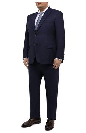 Мужской шерстяной костюм BRIONI темно-синего цвета, арт. RAH00V/09A0H/PARLAMENT0 | Фото 1