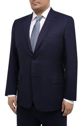 Мужской шерстяной костюм BRIONI темно-синего цвета, арт. RAH00V/09A0H/PARLAMENT0 | Фото 2