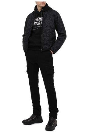 Мужские кожаные ботинки BOGNER черного цвета, арт. 103-9523/MEGEVE M 1A | Фото 2