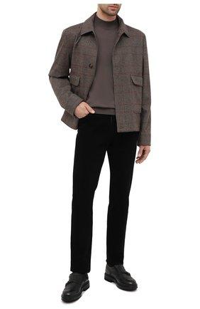 Мужские кожаные монки SANTONI черного цвета, арт. MGMI16232JK3ESAXN51 | Фото 2