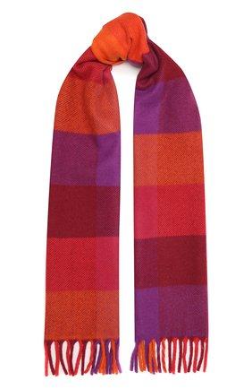 Мужской кашемировый шарф LORO PIANA красного цвета, арт. FAL3901 | Фото 1