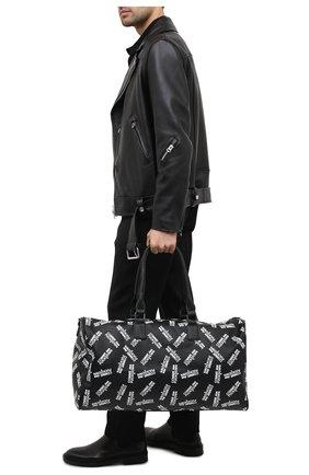 Мужская дорожная сумка COMME DES FUCKDOWN черно-белого цвета, арт. CDFA506   Фото 2