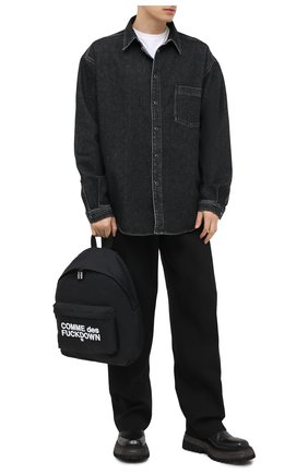 Мужской текстильный рюкзак COMME DES FUCKDOWN черного цвета, арт. CDFA504 | Фото 2