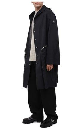 Мужские кожаные монки JIL SANDER черного цвета, арт. JI35503A-12232 | Фото 2