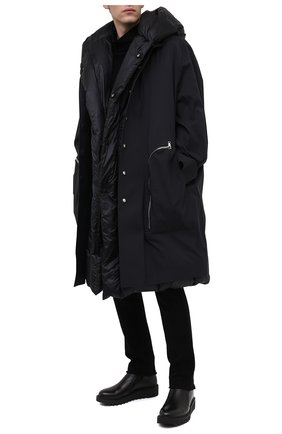 Мужские кожаные сапоги GIUSEPPE ZANOTTI DESIGN черного цвета, арт. IU00046/001 | Фото 2