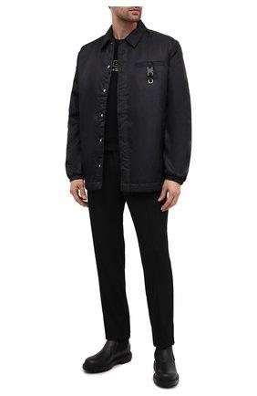 Мужская утепленная куртка 1017 ALYX 9SM черного цвета, арт. AAM0U0079FA03   Фото 2