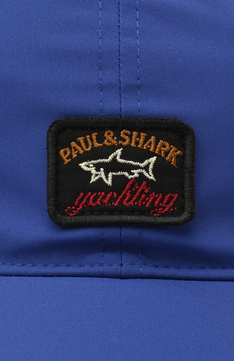 Мужской бейсболка PAUL&SHARK синего цвета, арт. I20P7105/DF | Фото 3