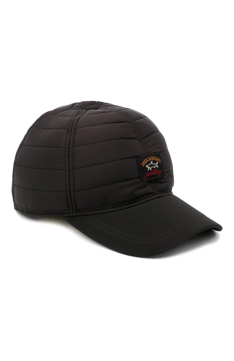 Мужской бейсболка PAUL&SHARK черного цвета, арт. I20P7106/H2U   Фото 1