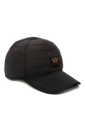 Мужской бейсболка PAUL&SHARK черного цвета, арт. I20P7106/H2U | Фото 1