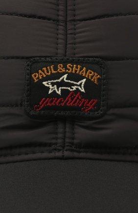 Мужской бейсболка PAUL&SHARK черного цвета, арт. I20P7106/H2U   Фото 3