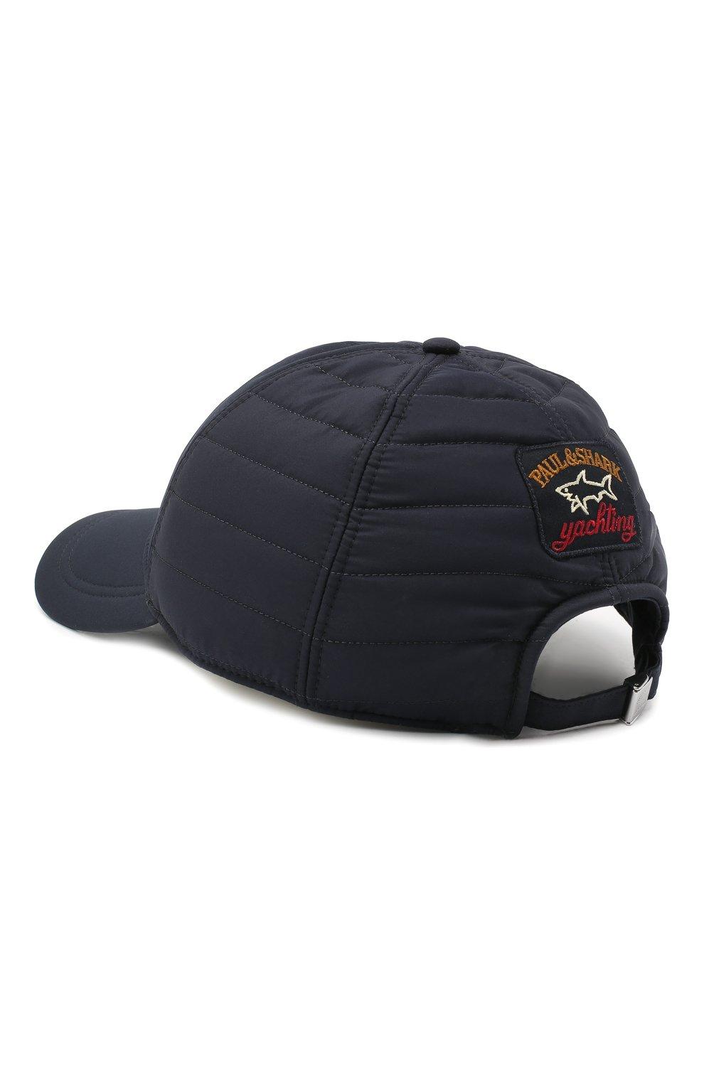 Мужской бейсболка PAUL&SHARK темно-синего цвета, арт. I20P7108/H7U | Фото 2