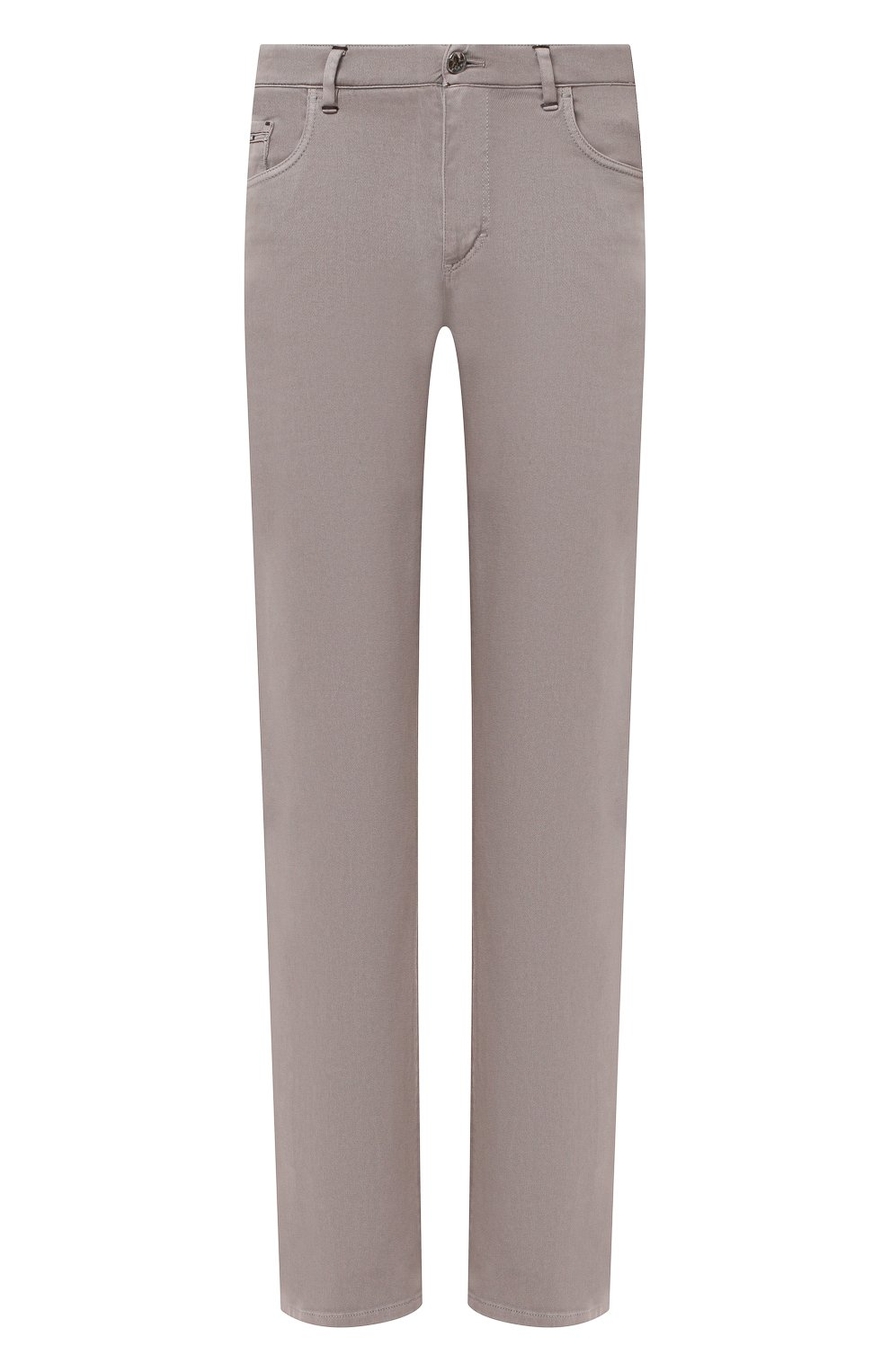 Мужские хлопковые брюки ZILLI бежевого цвета, арт. M0U-D0160-C0TE1/R001 | Фото 1