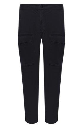 Мужской хлопковые брюки-карго STONE ISLAND темно-синего цвета, арт. 731530710 | Фото 1