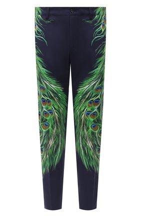 Мужской хлопковые брюки DOLCE & GABBANA разноцветного цвета, арт. GY6IET/FPF0G | Фото 1