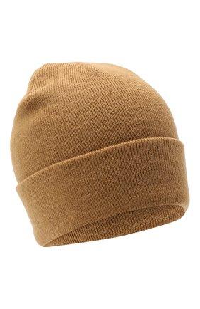 Мужская шапка BAPE бежевого цвета, арт. 1G80180023 | Фото 1
