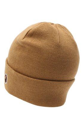 Мужская шапка BAPE бежевого цвета, арт. 1G80180023 | Фото 2