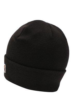 Мужская шапка BAPE черного цвета, арт. 1G80180023 | Фото 2