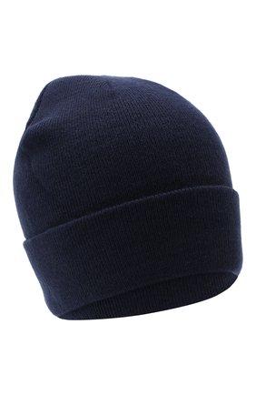 Мужская шапка BAPE темно-синего цвета, арт. 1G80180023 | Фото 1