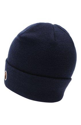 Мужская шапка BAPE темно-синего цвета, арт. 1G80180023 | Фото 2