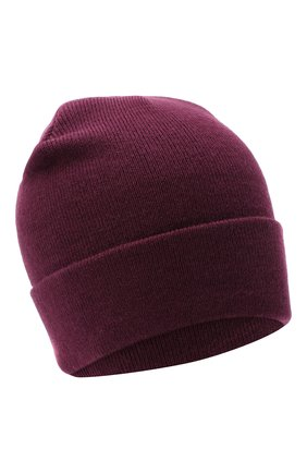Мужская шапка BAPE фиолетового цвета, арт. 1G80180023 | Фото 1