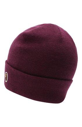 Мужская шапка BAPE фиолетового цвета, арт. 1G80180023 | Фото 2