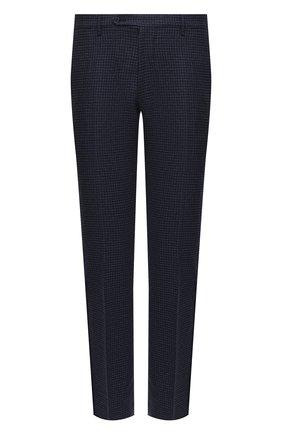 Мужские шерстяные брюки BERWICH темно-синего цвета, арт. SC/1 ALC/RD8071 | Фото 1
