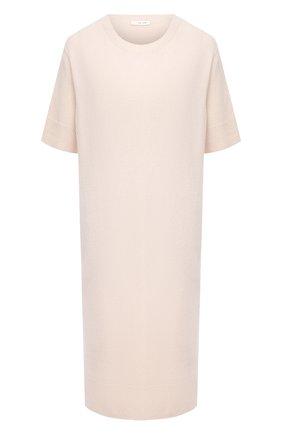 Женское платье из шерсти и кашемира THE ROW бежевого цвета, арт. 5357Y184 | Фото 1