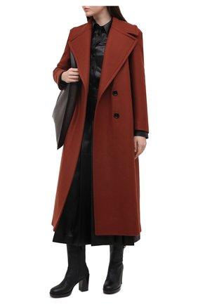 Женские кожаные ботильоны rosie GUCCI черного цвета, арт. 626747/0YX00 | Фото 2