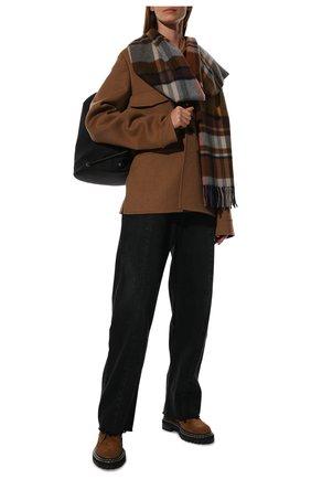 Мужские кашемировый шарф royal LORO PIANA синего цвета, арт. FAL4328 | Фото 2