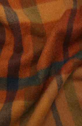 Мужские кашемировый шарф royal LORO PIANA коричневого цвета, арт. FAL4328 | Фото 2