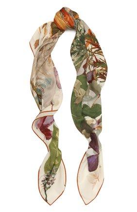 Женская шаль из кашемира и шелка LORO PIANA бежевого цвета, арт. FAL4106 | Фото 1